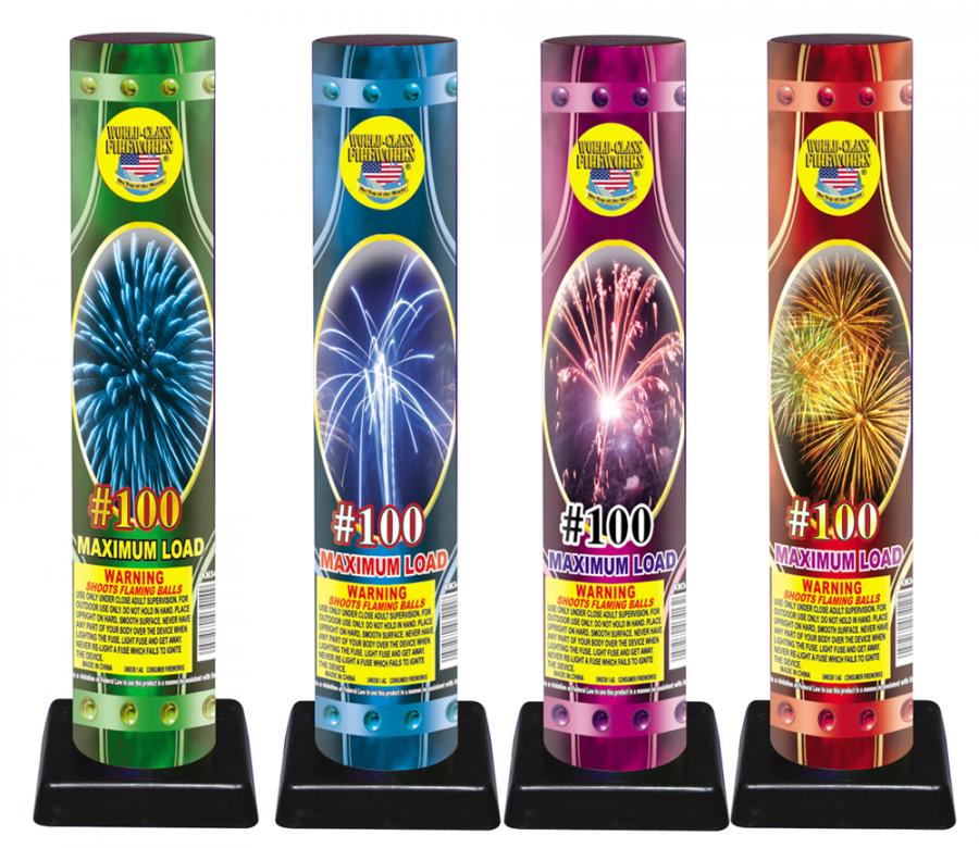 100 Assorted | Wholesale Fireworks